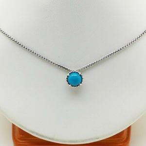 David Yurman Chatelaine Necklace Turquoise